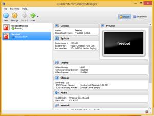 FreeBSDvirtualBox7